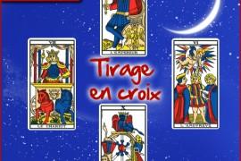 Tirage du tarot de Marseille gratuit avec le tirage en croix