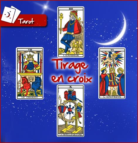 91d0791340fb6f Tirage du tarot de Marseille gratuit avec le tirage en croix